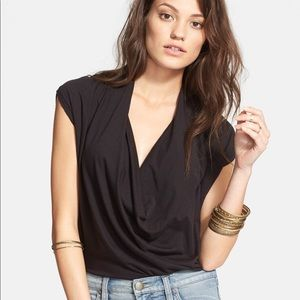 FP Fantasy lightweight cowl neck tee